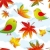 Colorful autumn leaves seamless pattern stock photo © meikis