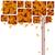 résumé · coloré · arbre · rouge · automne - photo stock © meikis