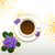 кофе · цветок · иллюстрация · символ · перерыва · время - Сток-фото © meikis
