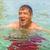 man · leuk · zwemmen · oceaan · knappe · man · strand - stockfoto © meinzahn