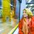 przylot · metra · pociągu · świecie · miasta · grupy - zdjęcia stock © meinzahn