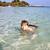 meninos · desfrutar · jogar · praia · arenoso · praia · tropical - foto stock © meinzahn