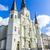 város · New · Orleans · illusztráció · sziluett · USA · épület - stock fotó © meinzahn