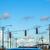 trafik · düzenleme · Amerika · trafik · ışıkları · araba · bulutlar - stok fotoğraf © meinzahn