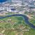 erőmű · folyó · fő- · mező · tó · ipari - stock fotó © meinzahn