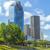 ufuk · çizgisi · Houston · Teksas · ofis · şehir - stok fotoğraf © meinzahn