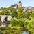 old lahn bridge and view to wetzlar dome stock photo © meinzahn