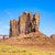 óriás · homokkő · képződmény · völgy · kék · ég · természet - stock fotó © meinzahn