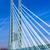 bridge of an industry park in beautiful landscape near frankfurt stock photo © meinzahn