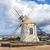 moinho · de · vento · canárias · Espanha · praia · edifício · sol - foto stock © meinzahn