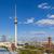ベルリン · テレビ · 塔 · テレビ塔 · 教会 · 表示 - ストックフォト © meinzahn