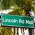 Miami · tengerpart · jelzőtábla · jelzőtáblák · Florida · USA - stock fotó © meinzahn