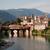 eski · ahşap · köprü · nehir · su · ağaç - stok fotoğraf © meinzahn