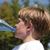 spragniony · dziecko · woda · pitna · butelki · dzieci · chłopca - zdjęcia stock © meinzahn