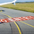 band · landingsbaan · natuur · contact · vliegtuig · luchthaven - stockfoto © meinzahn
