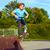 fitness · menino · criança · exercer · pessoa · masculino - foto stock © meinzahn