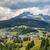 Alpok · Ausztria · tájkép · utazás · hegyek · Európa - stock fotó © meinzahn