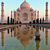 belle · Taj · Mahal · architecture · Inde · construction · coucher · du · soleil - photo stock © meinzahn