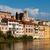 view of the romantic village basano del grappa over the river br stock photo © meinzahn