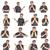 senior · kaukasisch · handen · gebaar - stockfoto © meinzahn