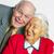 пожилого · пару · жизни · вместе · женщину - Сток-фото © meinzahn