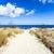 砂の · パス · ビーチ · バルト海 · 風景 · 海 - ストックフォト © meinzahn