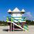 úszómester · fülke · üres · tengerpart · Miami · Florida - stock fotó © meinzahn