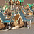 camelos · deserto · dois · camelo · olhando · sol - foto stock © meinzahn