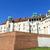 koninklijk · kasteel · Polen · reizen · rivier · baksteen - stockfoto © meinzahn