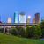 centrum · Houston · Texas · noc · dość · miejskich - zdjęcia stock © meinzahn