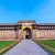 jahangiri mahal in agra red fort stock photo © meinzahn
