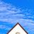 algemeen · eengezinswoning · voorstads- · blauwe · hemel · hemel · bouw - stockfoto © meinzahn