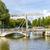 yat · köprü · yelkencilik · otoyol · inşaat · seyahat - stok fotoğraf © meinzahn