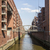 red brick houses at the speicherstadt hamburg stock photo © meinzahn