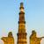 famous tower of qutb minar in delhi india stock photo © meinzahn