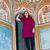 красивой · европейский · женщину · дворец · девушки · здании - Сток-фото © meinzahn