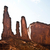 famous scenic butte in monument valley stock photo © meinzahn