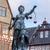 像 · 女性 · 正義 · フランクフルト · ドイツ · 空 - ストックフォト © meinzahn