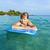 erkek · yüzme · sörf · mutlulukla · gülen · güzel - stok fotoğraf © meinzahn