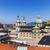 barokk · fő- · tér · Ausztria · jelentős · homlokzat - stock fotó © meinzahn