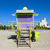 спасатель · кабины · пусто · пляж · Майами · Флорида - Сток-фото © meinzahn