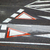 elsőbbségadás · kötelező · gyalogos · fém · felirat · autópálya · piros - stock fotó © meinzahn