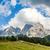 wandelen · alpen · Italië · Europa · sport · natuur - stockfoto © meinzahn