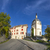 skyline of seyne les alpes with chapel stock photo © meinzahn