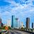 Houston · panoramę · wygaśnięcia · Texas · USA · most - zdjęcia stock © meinzahn