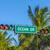 placa · de · la · calle · océano · unidad · famoso · sur · Miami - foto stock © meinzahn