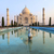 Taj · Mahal · reflexão · mausoléu · rio · edifício · Ásia - foto stock © meinzahn
