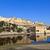 noto · ambra · fort · view · muro · blu - foto d'archivio © meinzahn