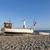 vissersboot · wal · donau · zonsondergang · hemel · hout - stockfoto © meinzahn