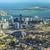 légi · Miami · tengerpart · víz · város · fény - stock fotó © meinzahn
